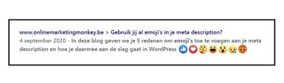 Emoji's - description